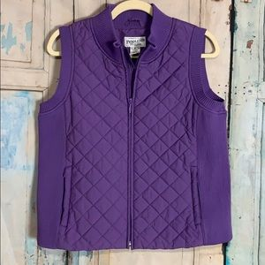 Pendleton purple Vest